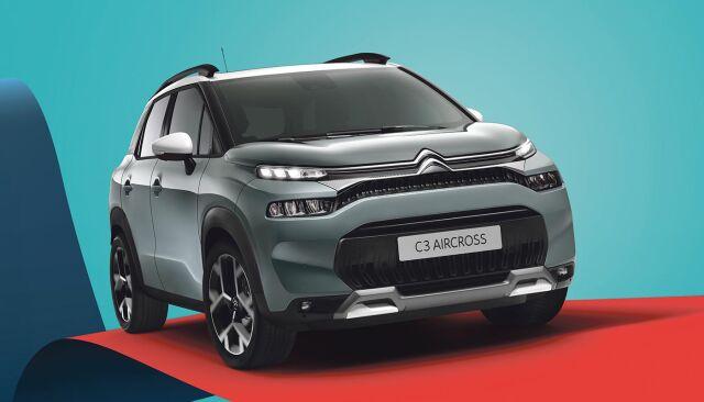 Uusi Citroën C3 Aircross SUV nyt ensiesittelyssä!