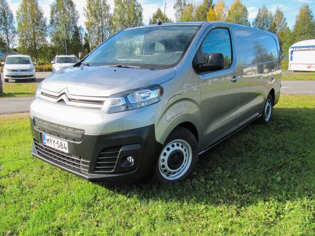 100% täyssähköinen pakettiauto Citroën ë-Jumpy 75kWh 136XL