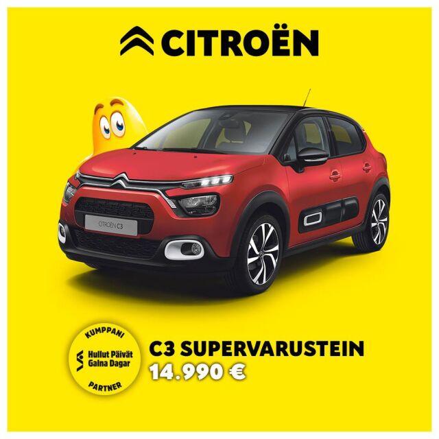 Citroën C3 - Hullut Päivät