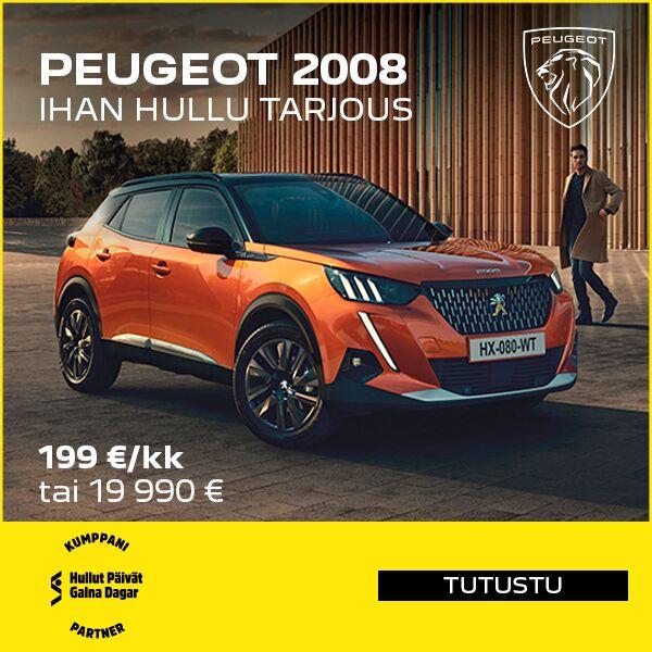 Peugeot 2008 - Hullut Päivät