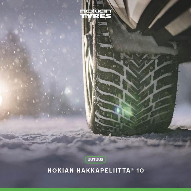 Uudet Nokian Hakkapeliitta 10 -nastarenkaat