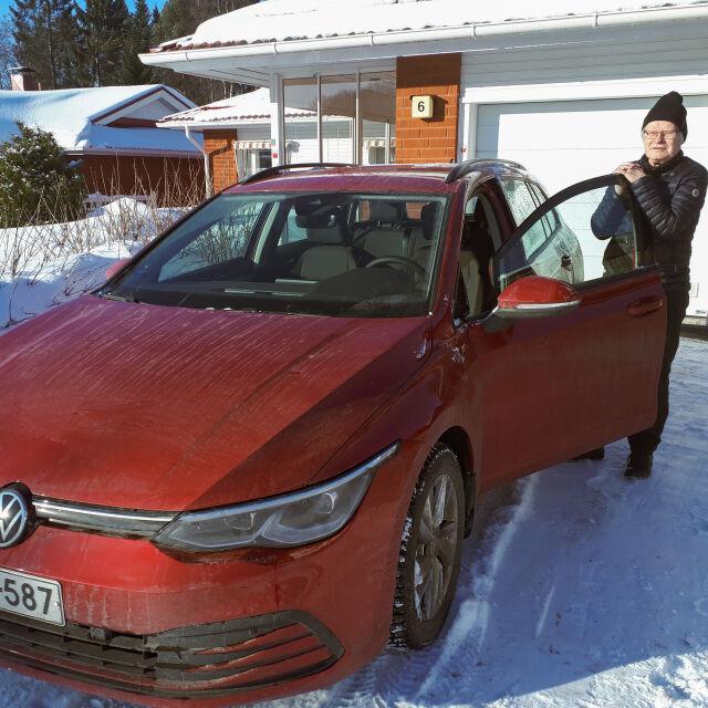 Oululainen Reino Viippola hankki uuden Golf Variantin