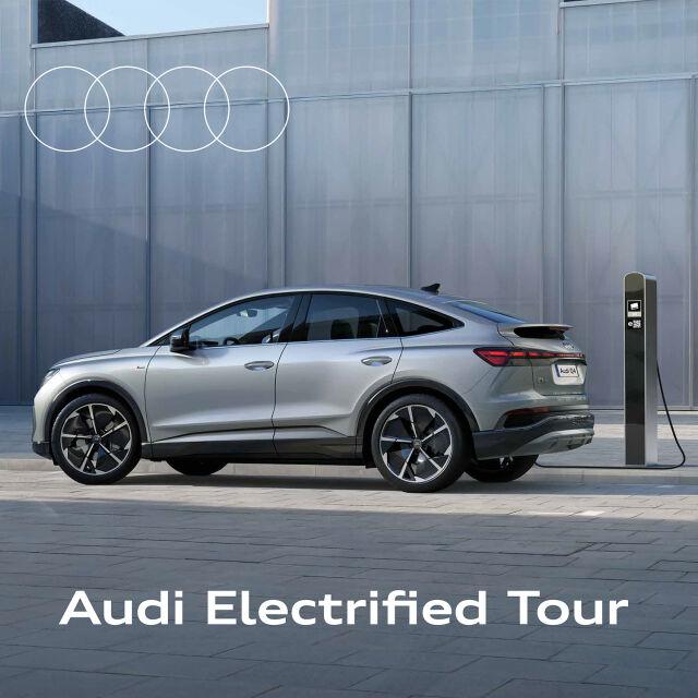 Audi Electrified Tour Pörhöllä 1.–5.11.
