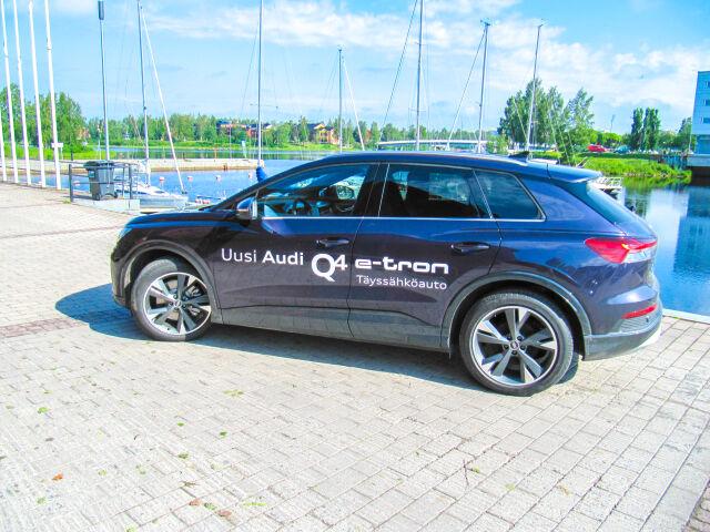 Audi Q4 Edition 40 e-tron 150kW - täyssähköauto