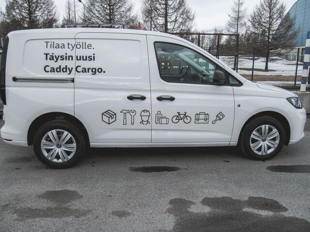Volkswagen Caddy – umpipakettiauto PRO