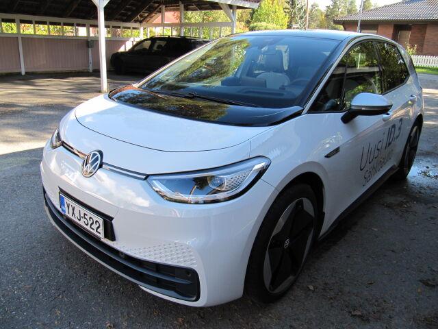 Volkswagen ID.3 1st MAX 150kW, akku 58kWh – täyssähköauto