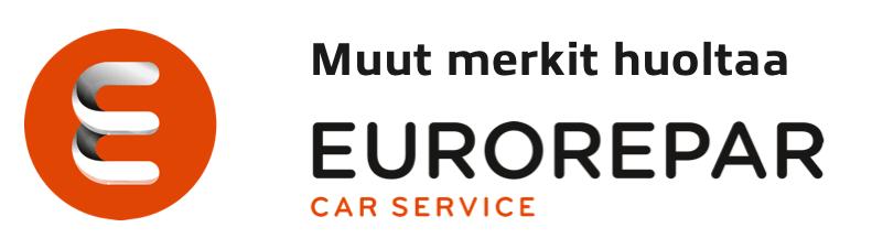 Muut merkit huoltaa Eurorepar Car Service