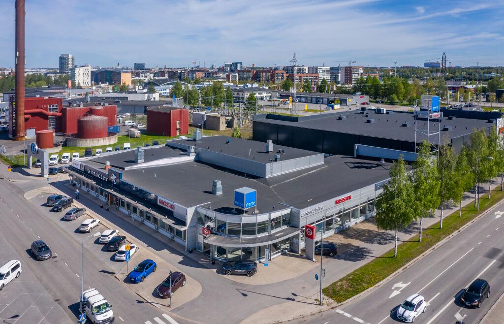 Pörhö Nissan-/Peugeot-/Seat-/Citroën-keskus Oulu