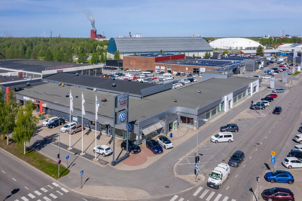 Pörhö Volkswagen-keskus Oulu