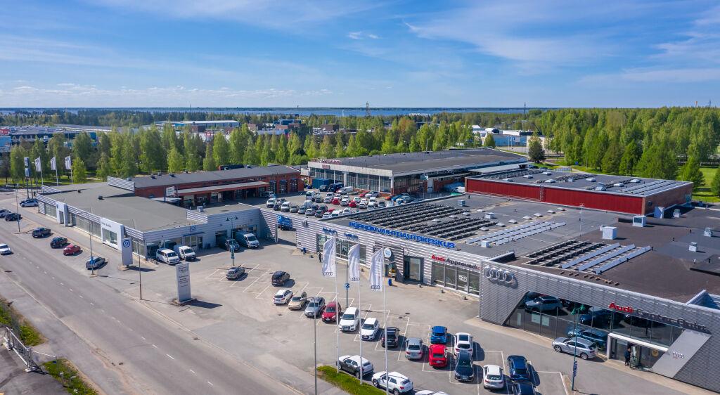 Pörhö Vaihtoautokeskus Oulu