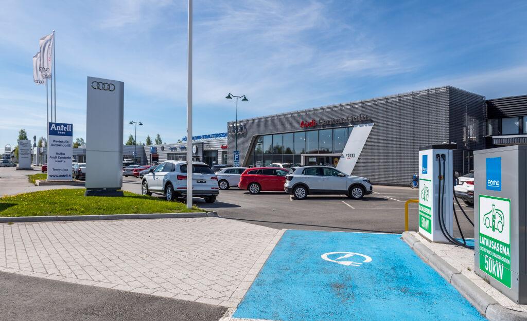 Pörhö Audi Center Oulu