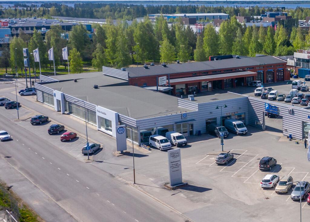 Pörhö Tavara-Autokeskus Oulu
